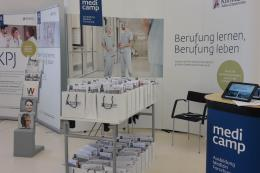 Messestand Klinikum Wels-Grieskirchen