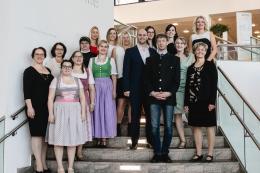 Diplomfeier Klinikum Wels-Grieskirchen