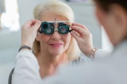 Augenkontrolle
