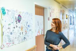 Künstlerisches Gestalten in der Heilstättenschule