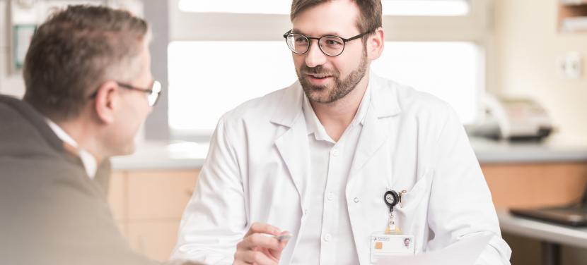 Urologie Arzt Patient