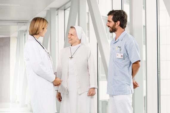 Ärztin Schwester Pflege