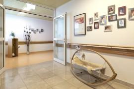 Geburtshilfe Grieskirchen:  Im Aufnahmezimmer hat man Zeit um in den Entbindungsräumichkeiten anzukommen