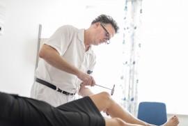 OA Dr. Dierk Oel in der MS-Diagnostik