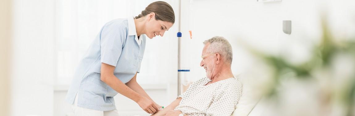 Pflege Patient
