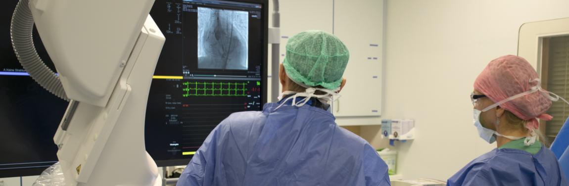Doppel-Herzklappeneingriff