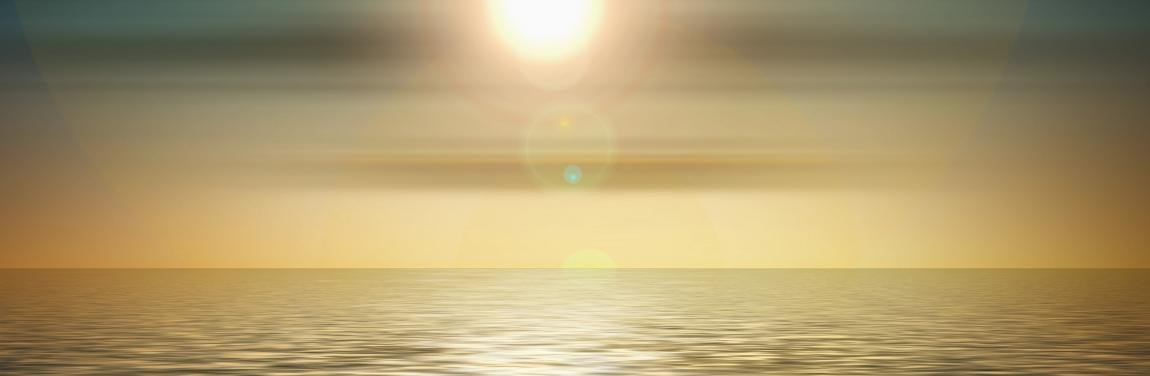 Gottesbild Sunset