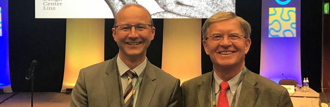 Prim. Univ.-Prof. Dr. Harald Hofer und Univ.-Prof. Dr. Peter Knoflach