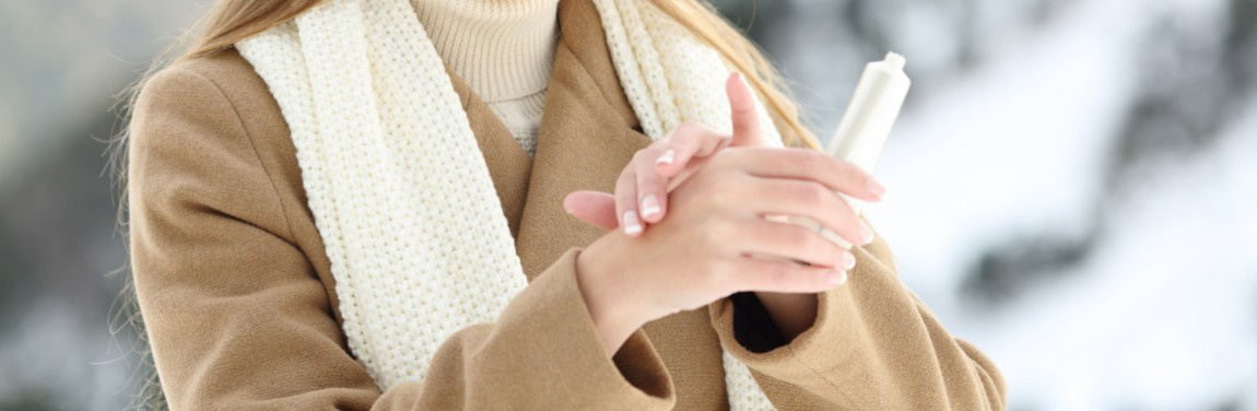 Gesunde Haut im Winter