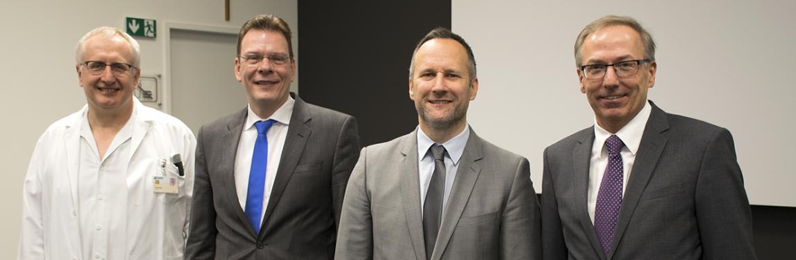 Andreas F. Zierer und Hans Joachim Geißler leiten die Abteilung für Herz-, Gefäß- und Thoraxchirurge