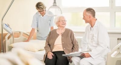 Pflege Patient Arzt