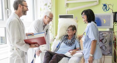 Dialyse Patientin
