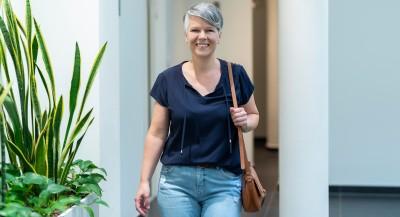 Nicole Koller in Ausbildung zur Pflegefachassistenz