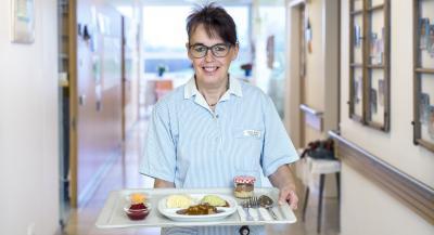 Pürierte Kost im Krankenhaus