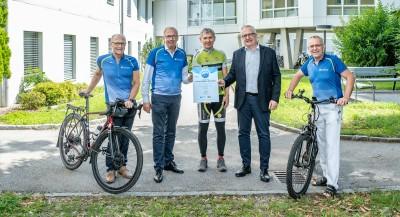 Zertifikatsverleihung Fahrradfreundlicher Betrieb
