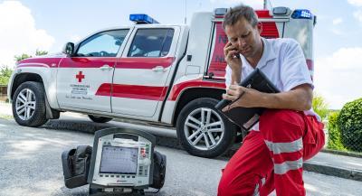 EKG Notfalleinsatzfahrzeug