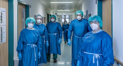 Infektstation Schutzkleidung