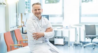 Björn Rath in der Orthopädie Ambulanz