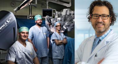 Alexandre Pelzer und das da-Vinci-Team