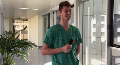 Wir im Klinikum – Patrick Kolb