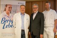 v. l. n. r.: Dr. Harald Eder, Prim. Dr. Walter Aichinger, OA Dr. Florian Wimmer