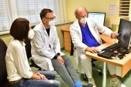 Patientin mit Florian Tomaselli und Rainer Kolb