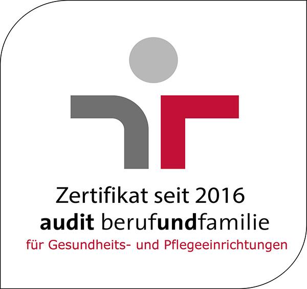 Zertifikat Beruf und Familie