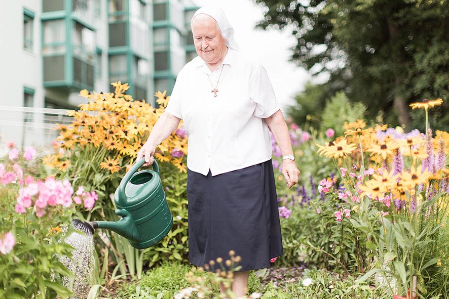 Sr Dietberga Gartenpflege