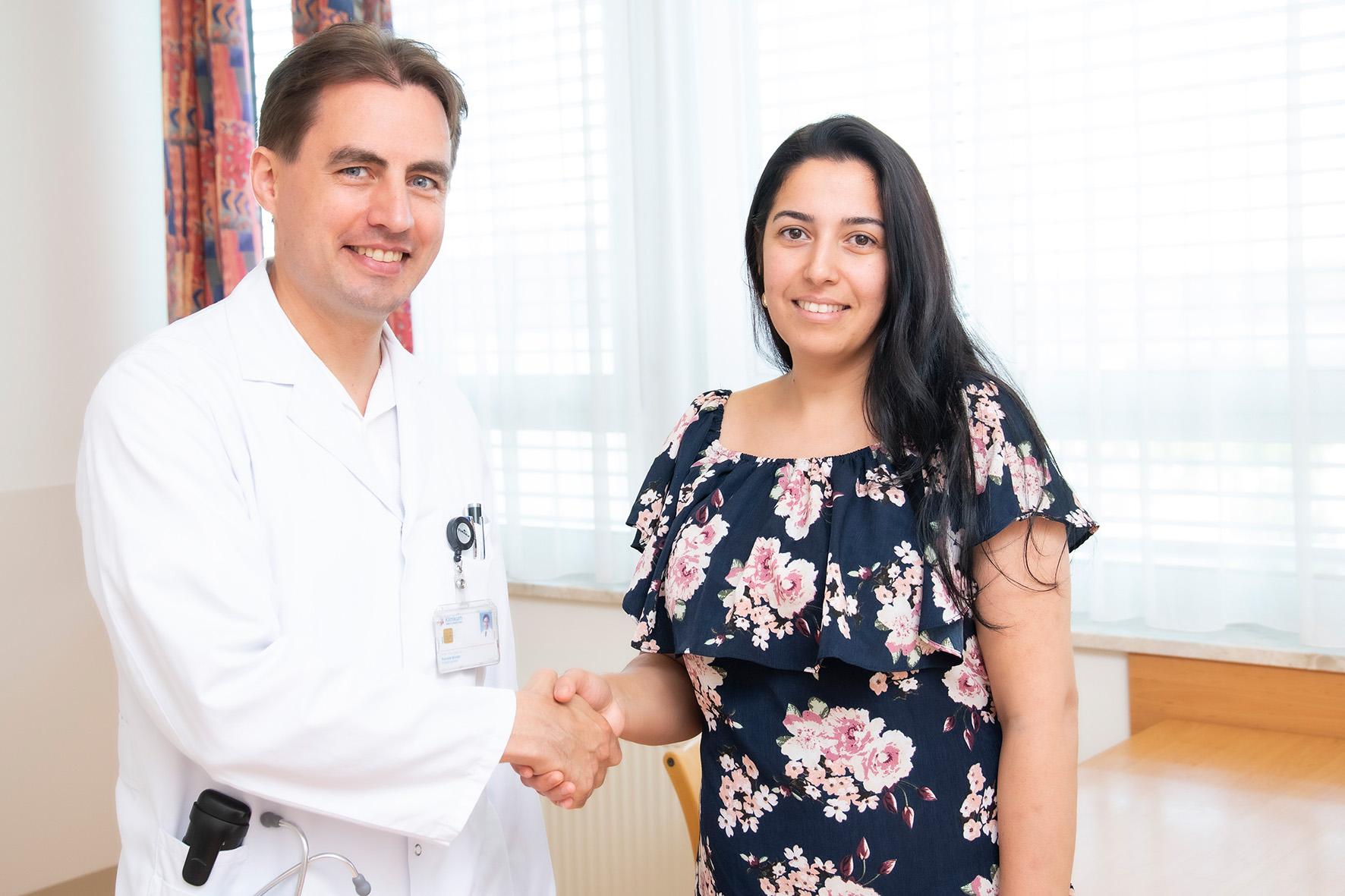 Patientin Mitralstenose