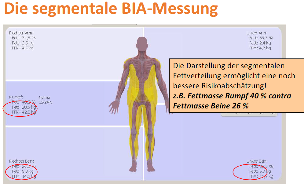 BIA-Messung